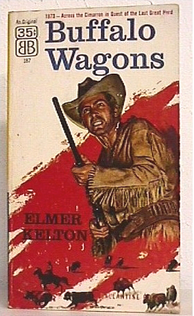 Buffalo Wagons by Elmer Kelton