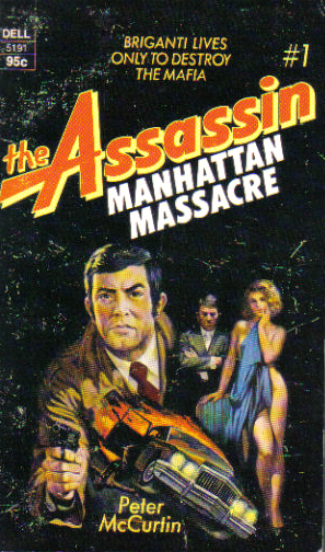 Manhattan Massacre by Peter McCurtin